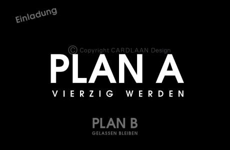 Plan A B...40 (schwarz)