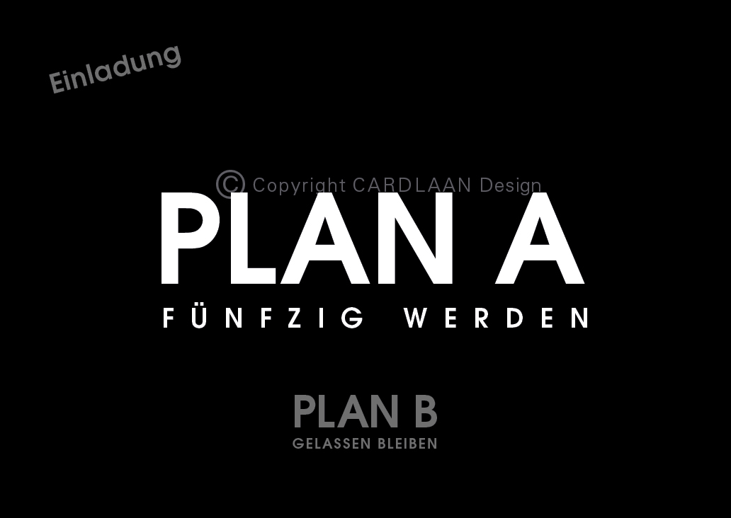Plan A B... 50 (Schwarz)