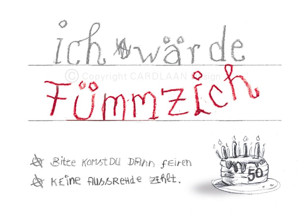 Wärde Fümmzich... 50
